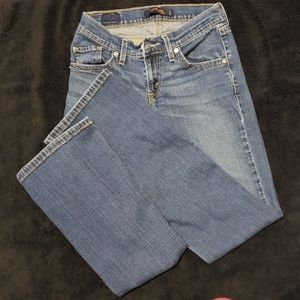 Levi's 528 curvy cut jeans sz 1m